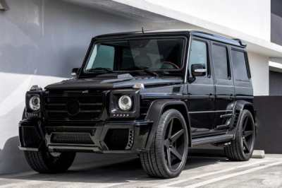 Mercedes-Benz G55 AMG від Wheels Boutique